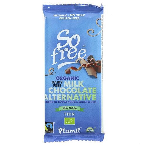 So Free Organic Milk Chocolate 80g