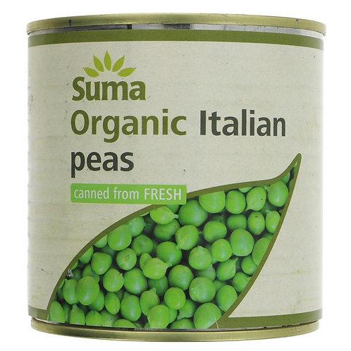 Suma Organic Green Peas