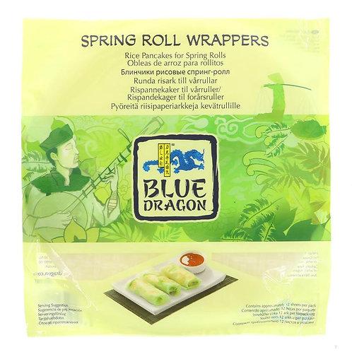 Blue Dragon Spring Roll Wrapper 134g