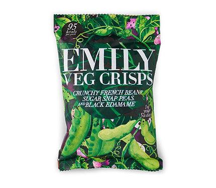 Emily Veg Crisp- Spring Greens 23g