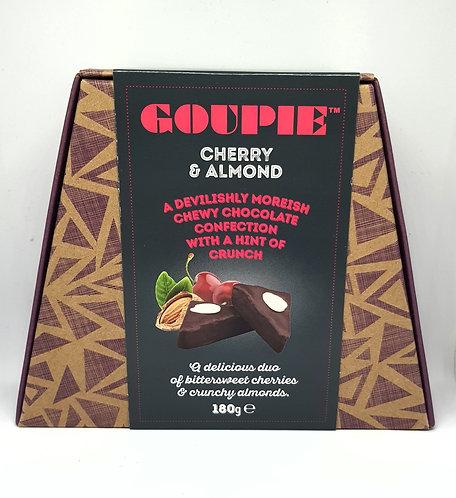 Goupie Cherry & Almond Chocolate 180g