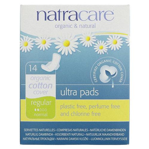 Natracare Organic Ultra Pads Regular 14pcs