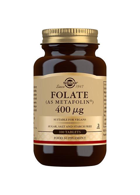 Solgar Folate (As metafolin) 400 UG