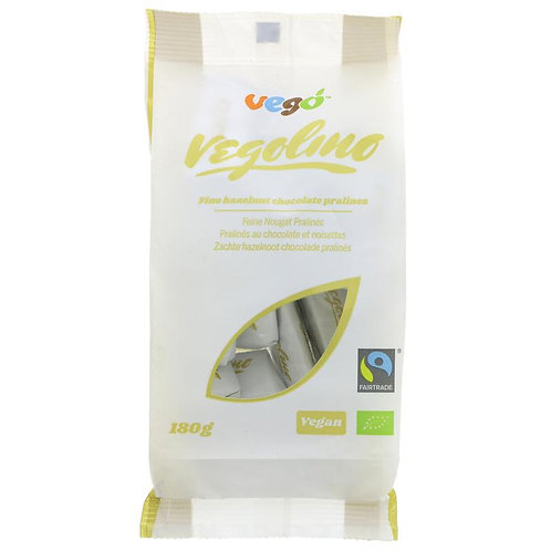 Vego Vegolino Fine Nougat Pralines 180g Expiry Date 29.3.20