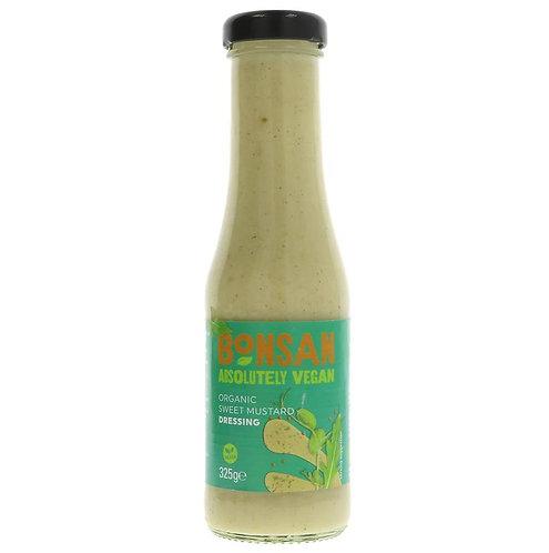Bonsan Organic Sweet Mustard Dressing 325g