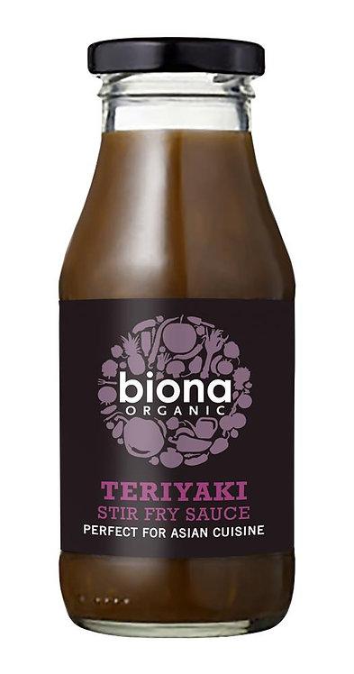 Biona Organic Teriyaki Stir Fry Sauce 240ml