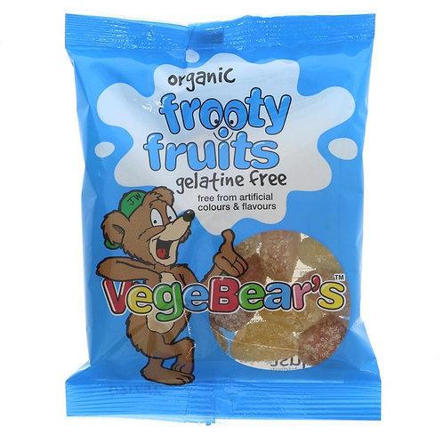 Vegebears Organic Frooty Fruits 100g
