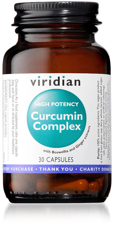 Viridian High Potency Curcumin Extract Complex