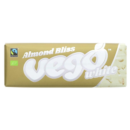 Vego White Almond Bliss Bar 50g