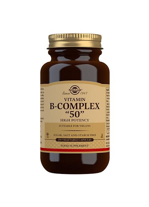 "Solgar Vitamin B Complex ""50"" High Potency"