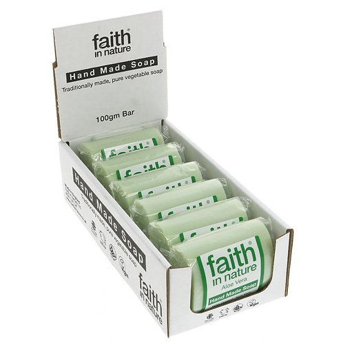 Faith In Nature Aloe Vera Soap 100g