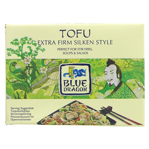 Bluedragon Tofu Extra Firm Silken Style 349g
