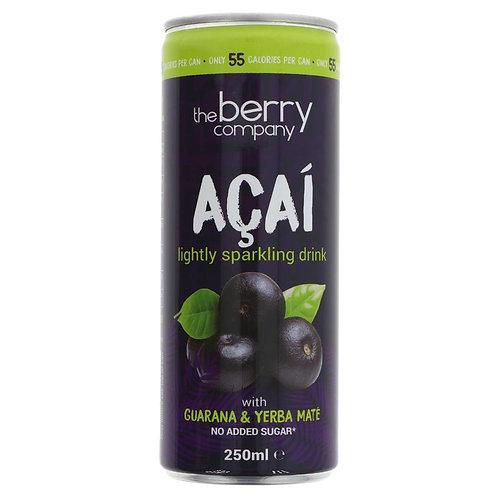 Berry Company Sparkling Acai Drink 250ml