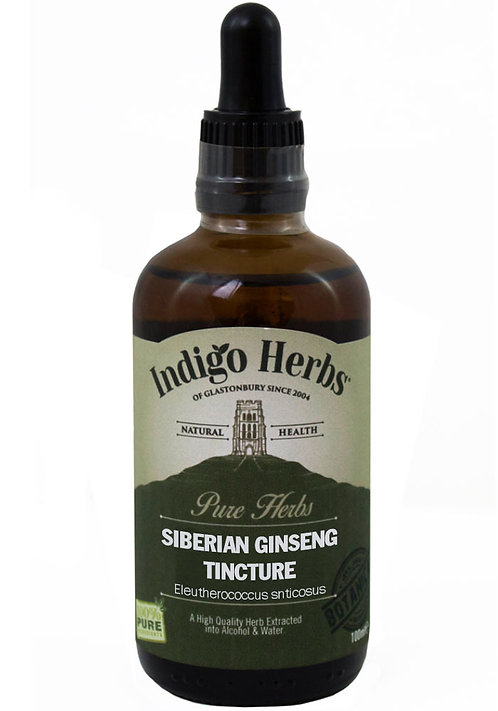 Indigo Herbs Siberian Ginseng Tincture 100ml