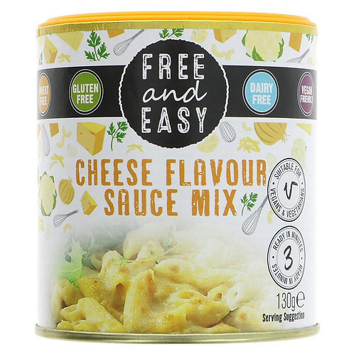 Free and Easy Cheese Flavouring Sauce Mix 130g