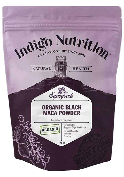 Indigo Nutrition Organic Black Maca Powder 250g