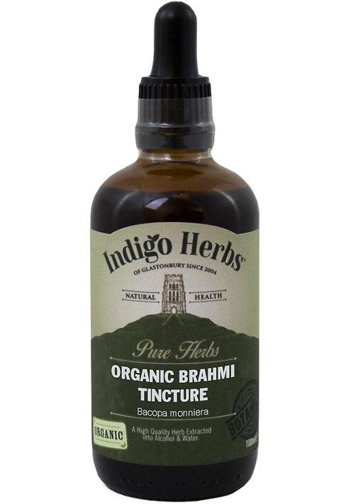 Indigo Herbs Organic Brahmi Tincture 100ml