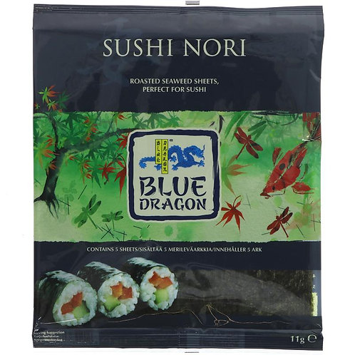 Blue Dragon Sushi Nori Sheets 11g