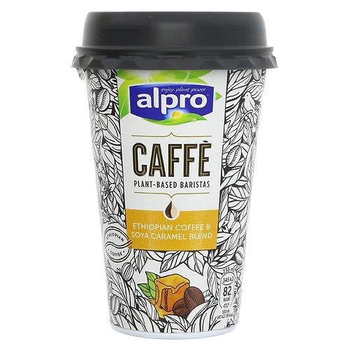 Alpro Caffe Coffee & Soya Caramel Blend Cup 235ml