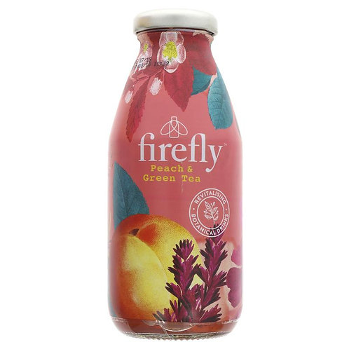 Firefly Peach & Green Tea Drink 330ml