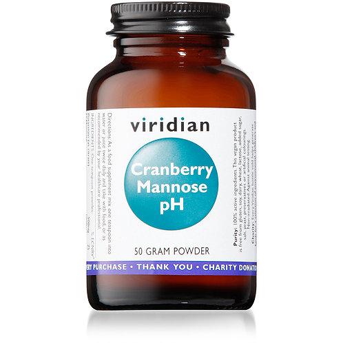 Viridian Cranberry Mannose pH Powder