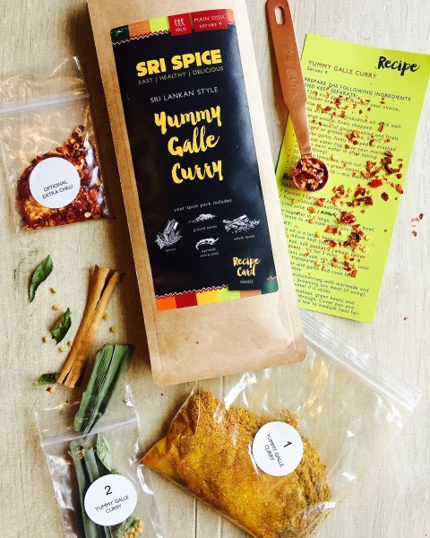 Sri Spice Yummy Galle Curry Spice Kit 33g