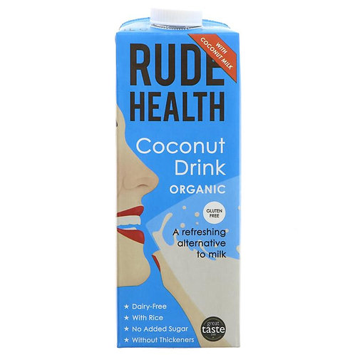 Rude Health Organic Coconut Drink 1lt