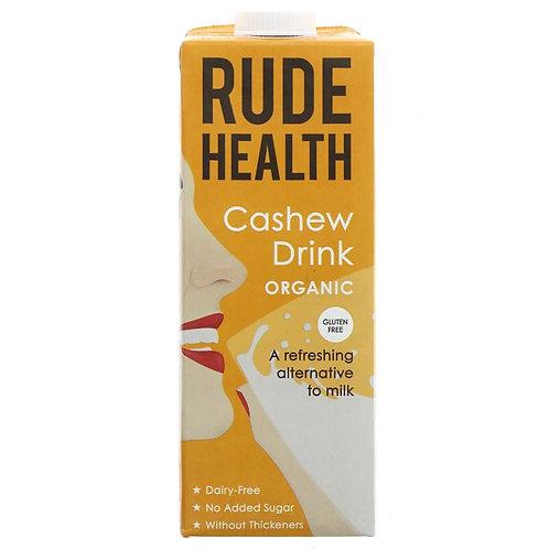 Rude Health Organic Cashew Drink 1lt