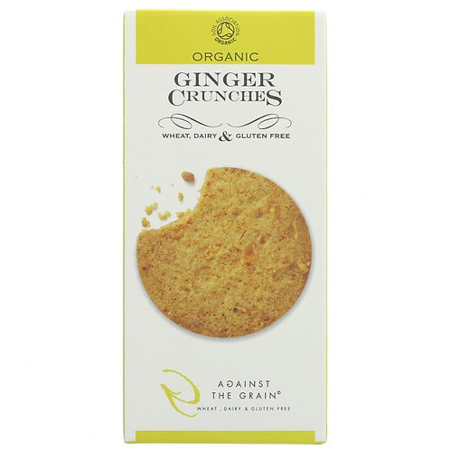 Against The Grain Organic Ginger Crunchies Cookies 150g