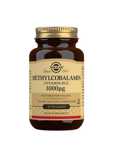 Solgar Methylcobalamin (Vitamin B12) 1000 UG