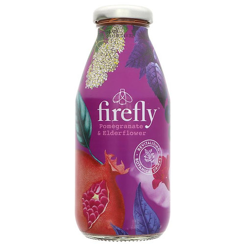 Firefly Pomegranate & Elderflower Drink 330ml