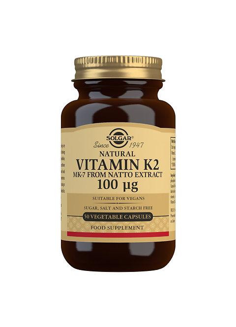 Solgar Vitamin K2 100 UG