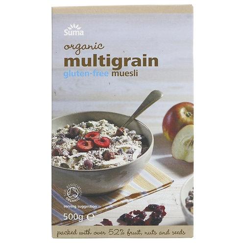 Suma Organic Multigrain Muesli 500g