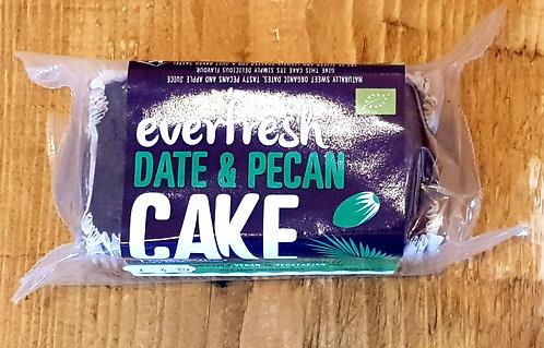 Everfresh Natural Foods Organic Date & Pecan Cake 300g