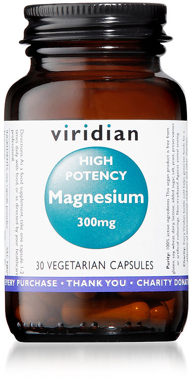 Viridian High Potency Magnesium 300mg