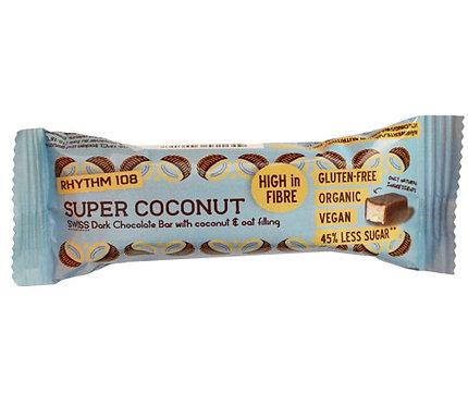 Rhythm 108 Super Coconut Dark Chocolate Bar 33g