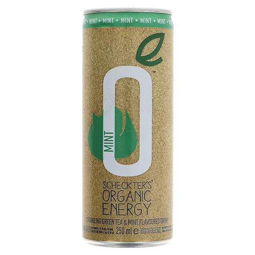 Scheckters Organic Mint Energy Drink 250ml