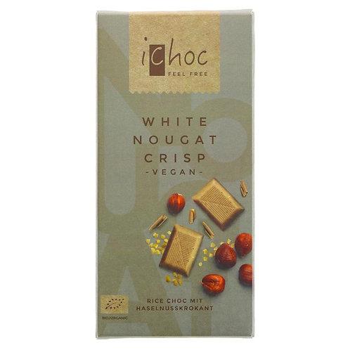 IChoc (Vivani) White Nougat Crisp (80 G)