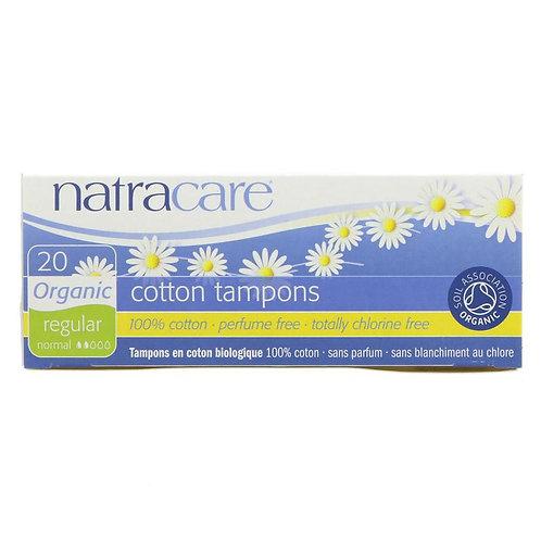 Natracare Organic Tampons Regular 16pcs