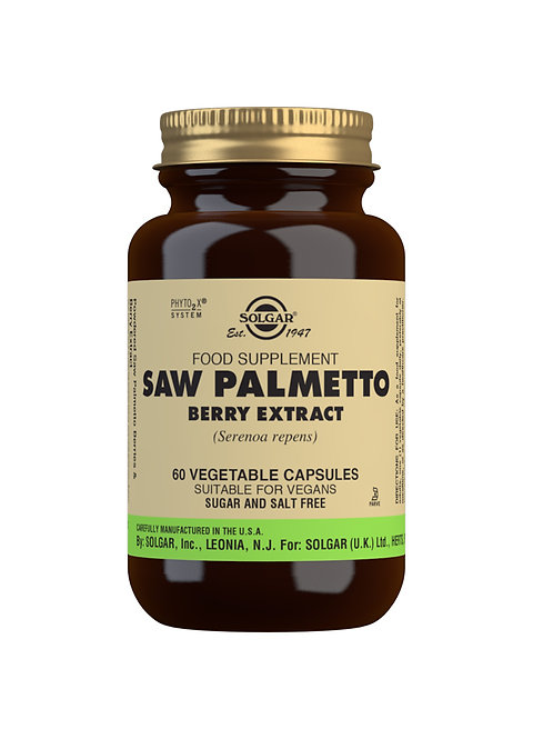 Solgar Saw Palmetto (Berry Extract)