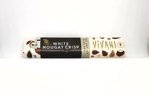 IChoc (Vivani) White Nougat Crisp (35 G)