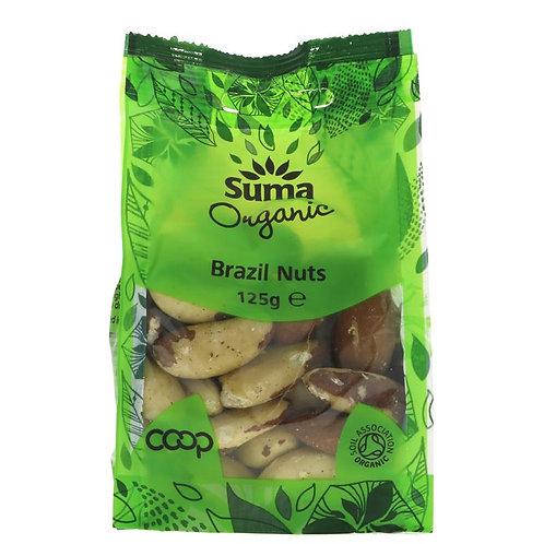 Suma Organic Brazil Nuts 125g