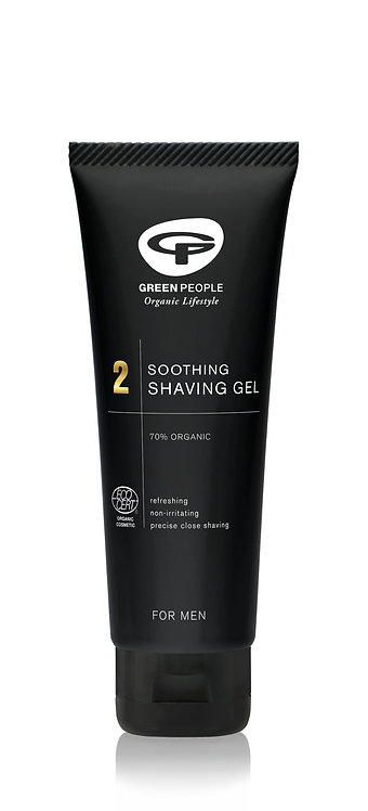 Green People For Men Soothing Shaving Gel 100ml