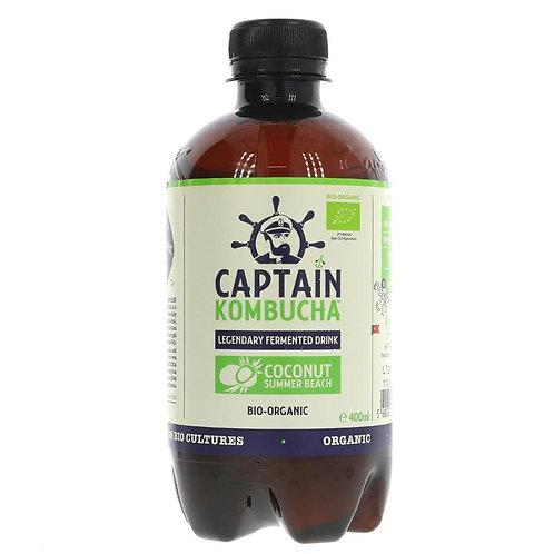 Captain Kombucha Coconut Summer Beach 400ml