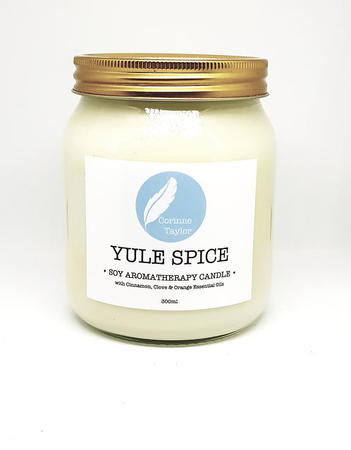 Corinne Taylor Soy Aromatherapy Candle Yule Spice 300ml