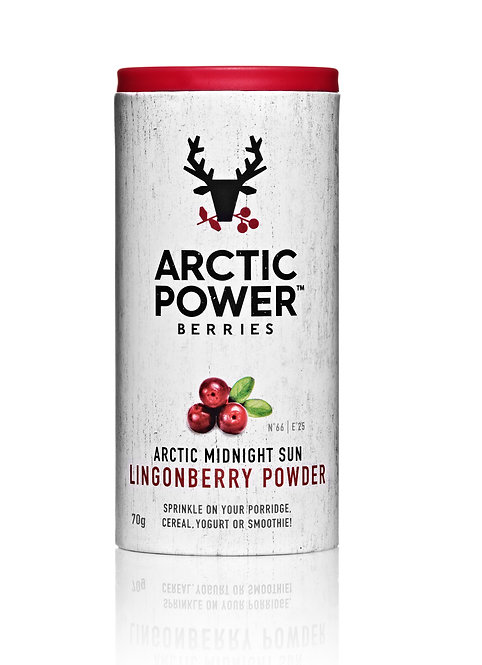 Arctic Power Lingonberry Powder 70g BB 10/12/20