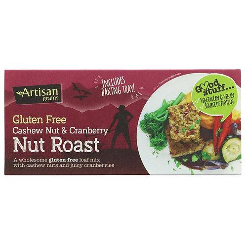 Artisan Grains Gluten Free Cashew Nut & Cranberry Nut Roast 200g