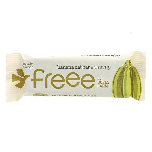 Doves Farm Organic BananaOat Bars with hemp (4x35g)