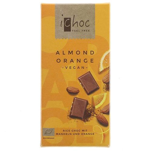 Ichoc Almond Orange Chocolate 80g