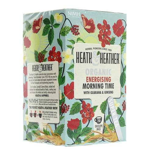 Heath & Heather Organic Morning Time Tea 20 bags